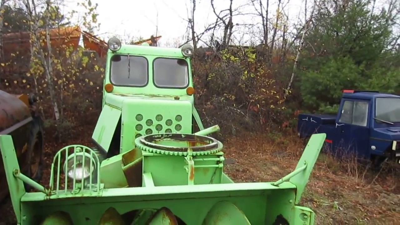 Vintage Monster Snowblower