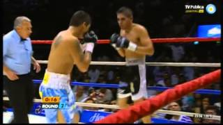 Marcos MAIDANA vs Angel MARTINEZ - WBA - Full Fight - Pelea Completa
