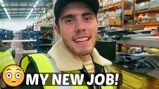 MY NEW JOB!