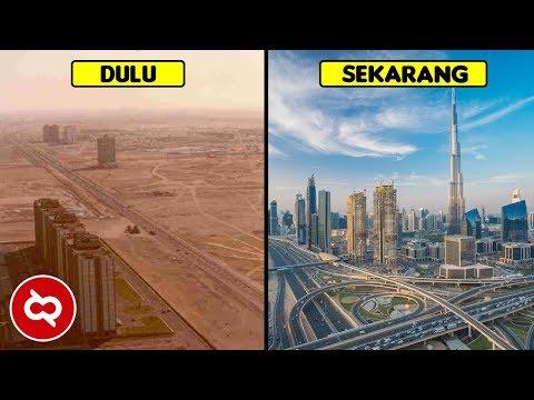 10 Transformasi Dubai Sebelum dan Sesudah Menjadi Kota Metropolis