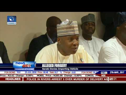 Alleged Forgery: Saraki Denies Importing Vehicle