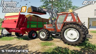 Spreading manure with Zetor | Starowies | Farming Simulator 2019 | Episode 19