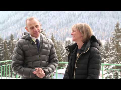 WEF Davos 2015 Hub Culture Interview Evan Davis of the BBC