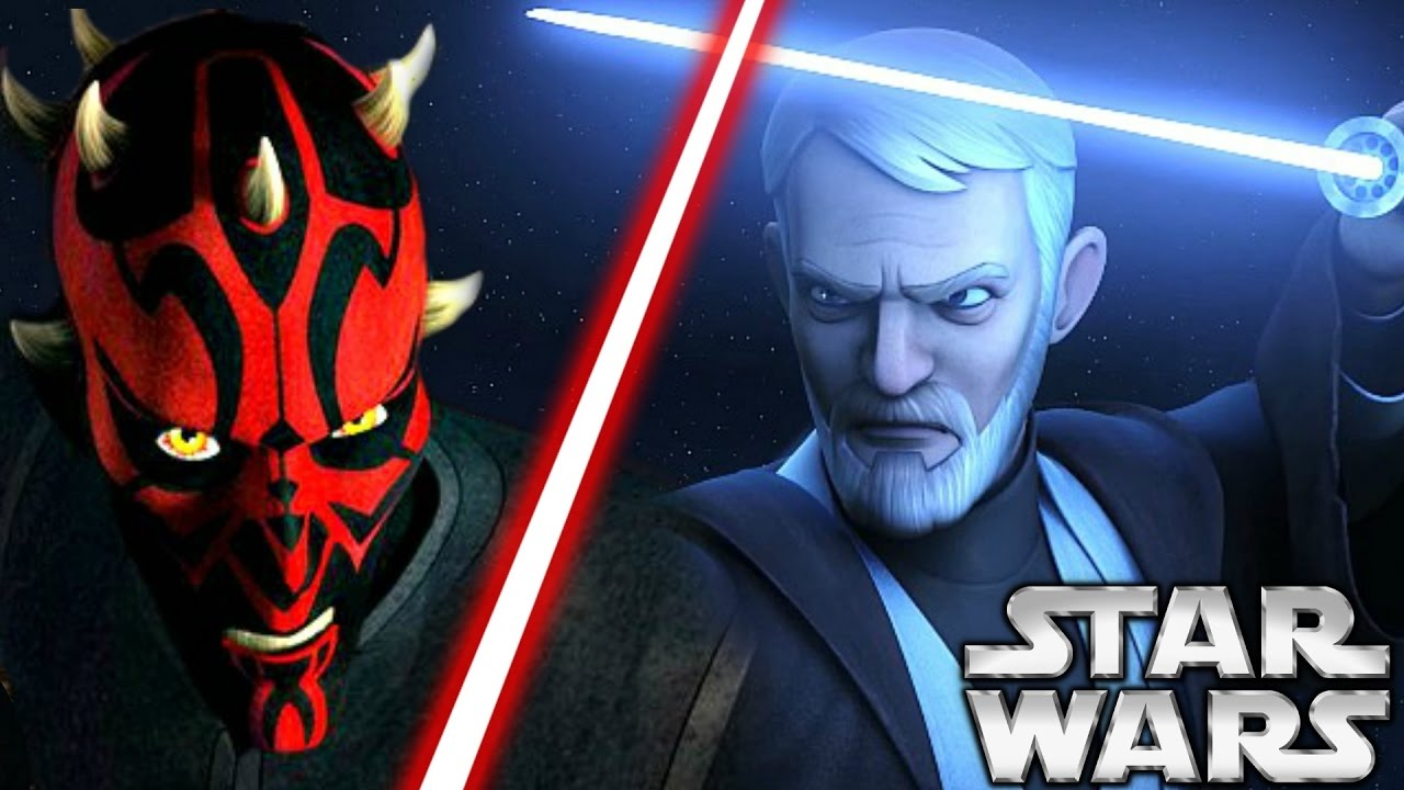 Afbeeldingsresultaat voor darth maul vs obi wan rebels