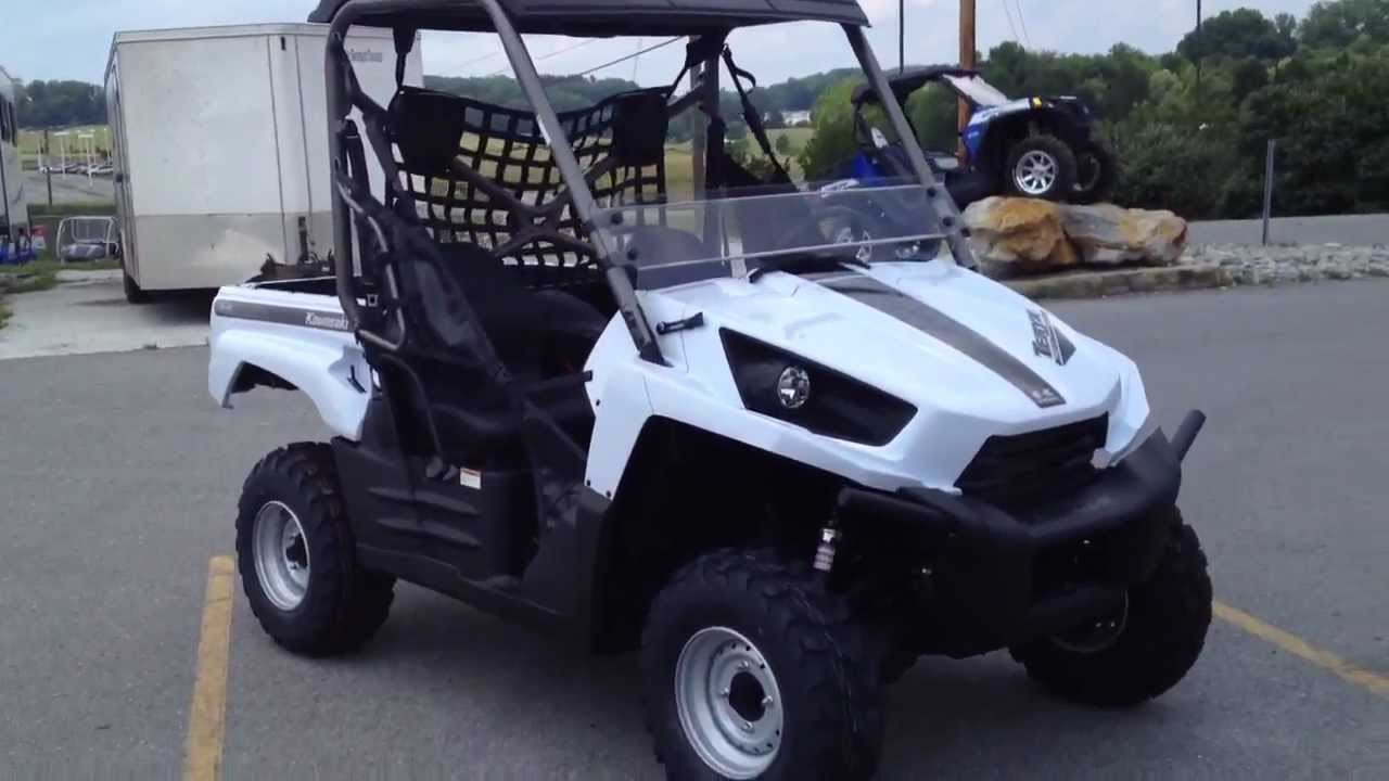 2013 Kawasaki Teryx 750 FI 4x4 LE in Metallic Stardust White at ...