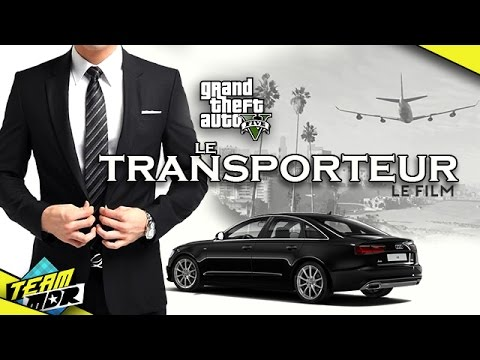 team mdr le transporteur film d 39 1h sur gta v youtube. Black Bedroom Furniture Sets. Home Design Ideas