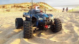 RC CAR BEACH FPV - TRAXXAS STAMPEDE
