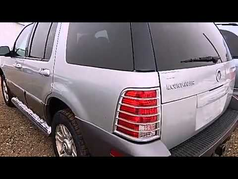 2005 mercury mountaineer 4 6l 4x4 in jackson mi 49201 youtube. Cars Review. Best American Auto & Cars Review