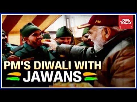 PM Modi`s Diwali With Jawans: Highlights