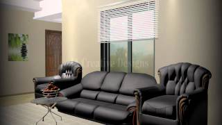 3d Living Room With Cinema 4d