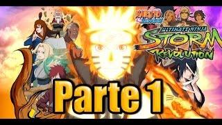 Naruto Shippuden Ultimate Ninja Storm Revolution - Parte 1 - Español