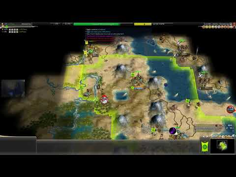 Civilization IV #104 Dawn of Civilization ~ Ethiopia #7 ~ Establishing a third city!