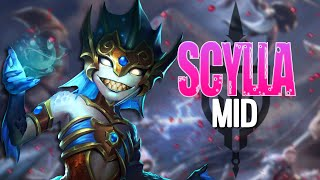 WIN EVERY SINGLE GAME BY PICKING SCYLLA! | Incon | Smite