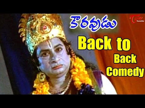 Kouravudu Movie || Back to Back Comedy || Nagendra babu || Ramya Krishna ||  M S Narayana