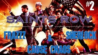 Saints Row IV With Frazzz & Sherlock #2 - Everyone Is Friendly In The 60s
