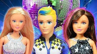 Barbie ve Ailesi Bölüm 161 | Elbise kavgası - Çizgi film tadında Barbie Oyunları