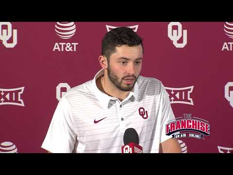 Baylor Week Press Conference - Baker Mayfield