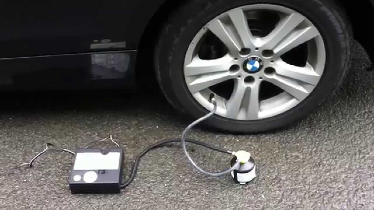 how to repair bmw tire - youtube