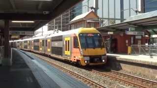 Trains at Parramatta - Sydney Trains