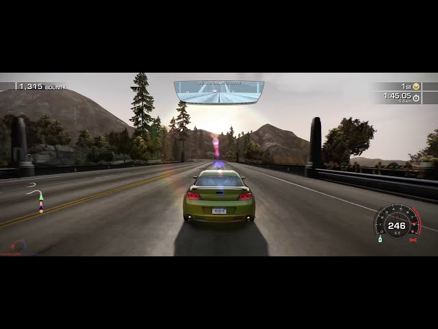Need for Speed Hot Pursuit Remastered | Mazda RX8 | First Offense