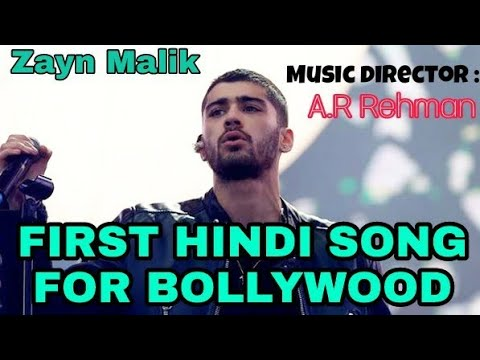 Zayn Malik records his first hindi song for Bollywood movie | Music director A.R Rehman |