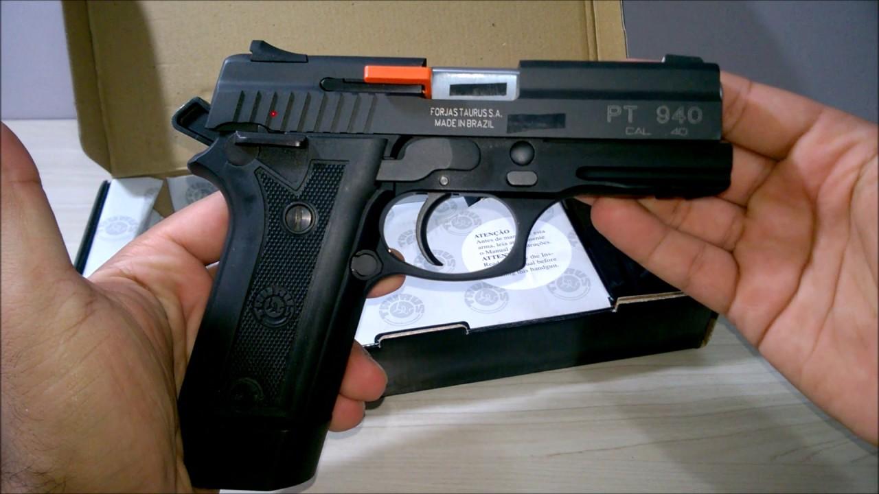 Download Unboxing Pistola Taurus PT940