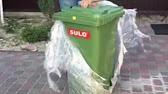 Титан это универсальные, износостойкие баки для мусора,. 137785, титан контейнер пластиковый 120 л, серый, 55x63x72, 1, 4, 137785. 137788.