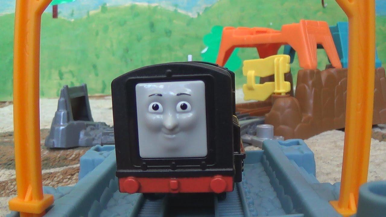 Томас и друзья ¦ Паровозик Томас Trackmaster ¦ игрушечные поезда для детей!