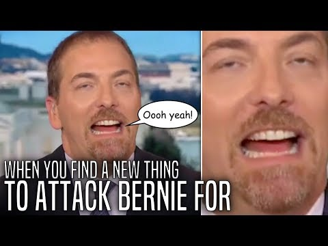 Chuck Todd REALLY Wants Bernie 2020 to Be Over Before it Begins