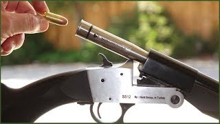 Turn your shotgun into a survival camping rifle