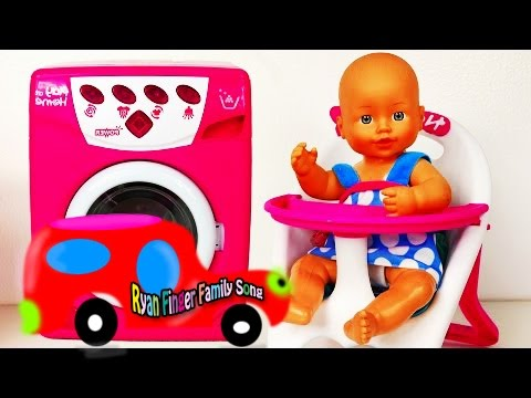 Learn Baby Doll Bed And Orbeez Surprise Eggs Toys And Colors Learning
