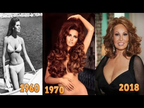 Raquel Welch Best Body and Age Transformation From 1960 To 2019