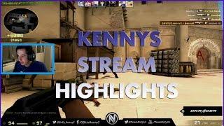 CS:GO KennyS New Stream Highlights
