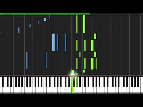 Perfect - Ed Sheeran [Piano Tutorial] (Synthesia) // YoungMin You