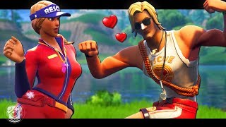 SUN TAN FALLS IN LOVE WITH SUN STRIDER - A Fortnite Short Film