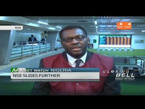 Nigerian All Share Index closes in negative territory