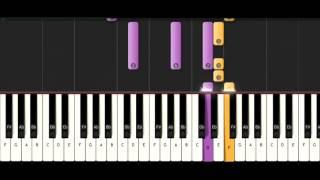 Maudy Ayunda - Perahu Kertas Piano Cover Ost. Perahu Kertas + Lyrics (cc) by Otello Piano