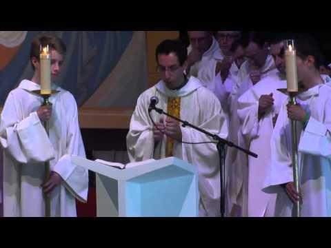 [Paray online] Lectures + Homélie du Père Nathanael Garic (8 Aout)[Messe d'Ouverture]