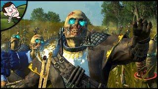 MASSIVE  MOUSILLION ZOMBIE AMBUSH! Total War WARHAMMER Mod Gameplay