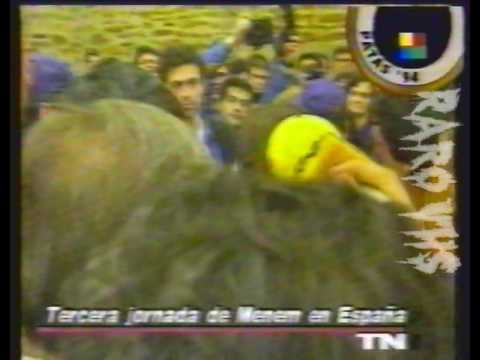 Protesta en España por chistes de gallegos en Argentina 1994