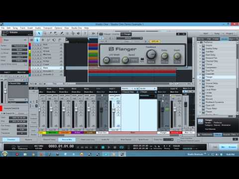 Studio One 2 - Using Busses and FX channels while Mixing