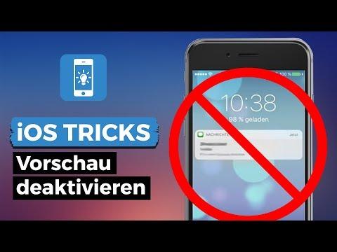 Nachrichten Vorschau Im IPhone Deaktivieren - So Geht's!