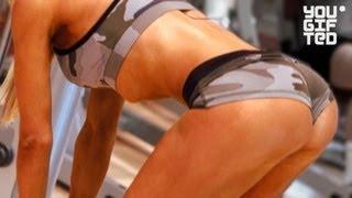 Супер ягодицы Екатерины Усмановой.(Подписывайся на канал: http://bit.ly/yougiftedrussia и ты узнаешь, как накачать СУПЕР ЯГОДИЦЫ! Чемпионка Москвы по фитнес..., 2012-11-19T05:14:44.000Z)