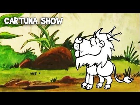Cartuna Show 4. Bölüm Aslan Çizimi 🦁 | Eğitici Çizgi Dizi