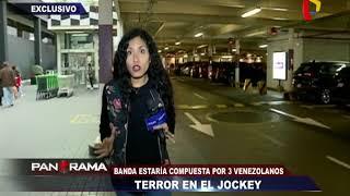 terror en el jockey banda integrada por extranjeros desata el pánico en centro comercial