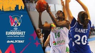 Portugal v Israel - Full Game - FIBA Women's EuroBasket 2019 - Qualifiers 2019