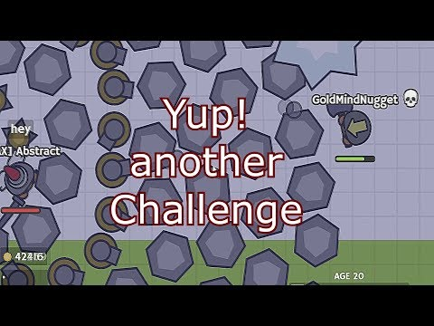 Moomoo.io - Events | 1v1 | Destroying a Man's Dream | Experimental server