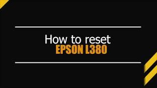 Reset epson l380 l383 l385 l485 adjustment program video