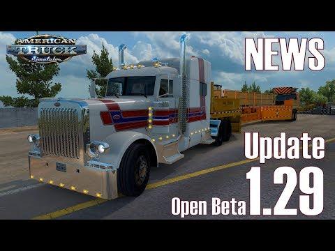 ATS ★ NEWS I Update 1.29 I Open Beta ist da [Deutsch/HD]