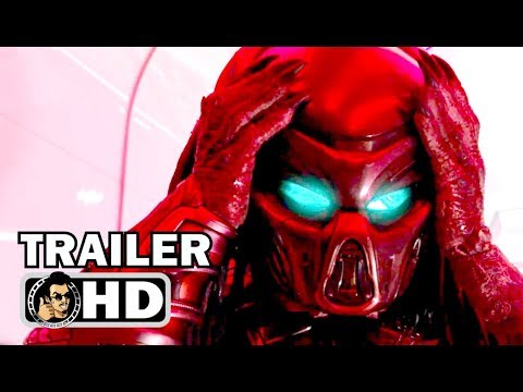 THE PREDATOR Official Trailer #2 (2018) Sci-Fi Horror Action Movie HD